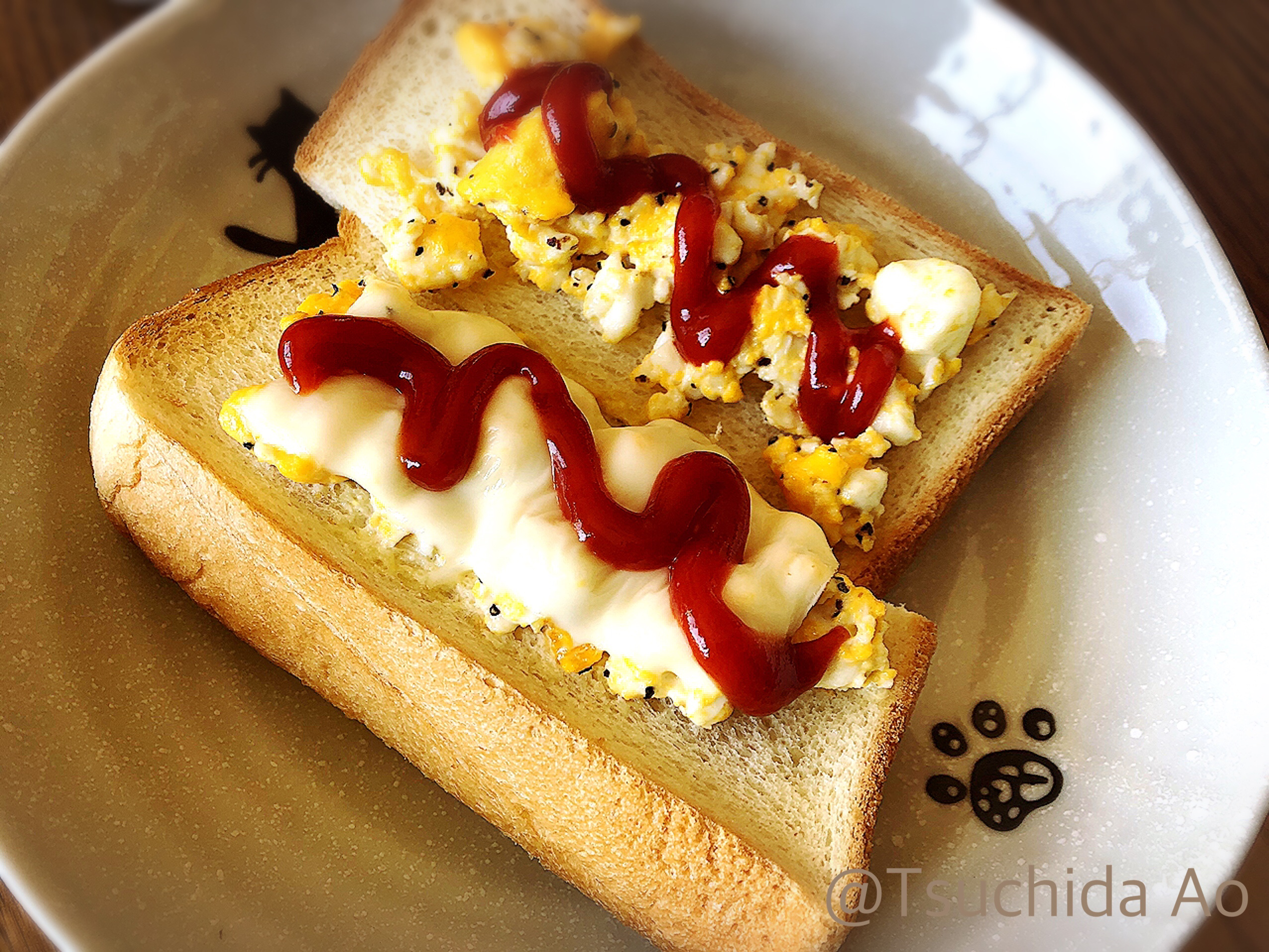 アイラップ×朝ごはん〜ふわふわ卵トースト〜