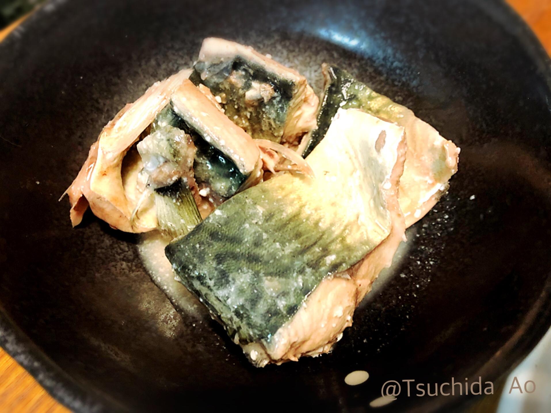 朝ごはんやお弁当、おつまみに!アイラップ使用、茹で鯖の塩麹漬け
